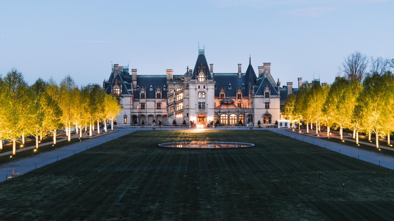 La Biltmore Estate en Asheville, Carolina del Norte