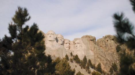 Mount Rushmore National Memorial en Dakota del Sur