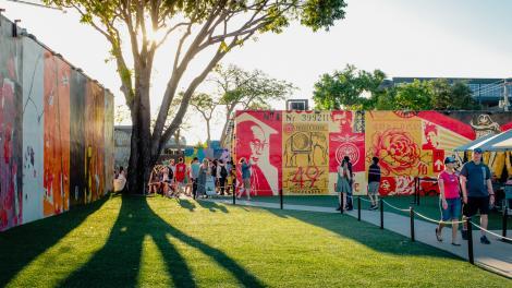 Explorando el arte público en el distrito Wynwood de Miami, Florida