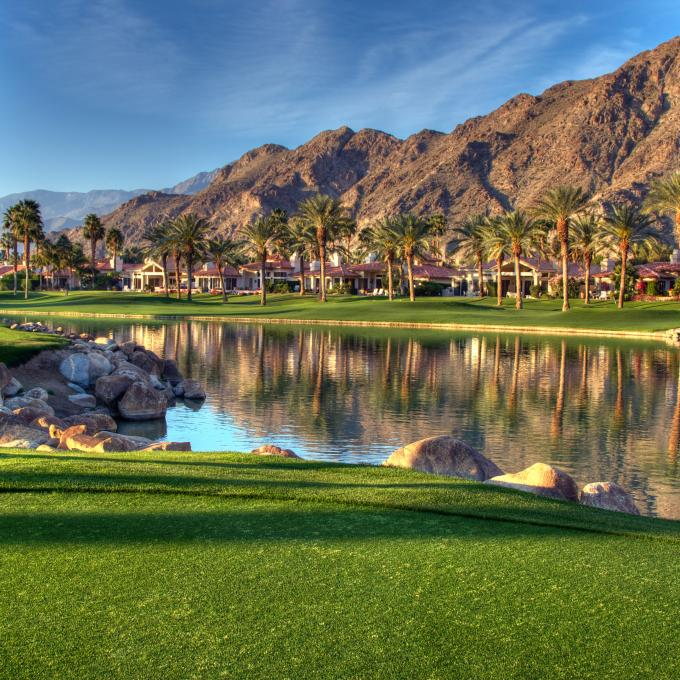 Un resort de lujo en Palm Springs, California