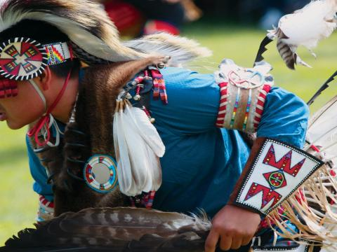 Plains Indian Museum Pow Wow anual