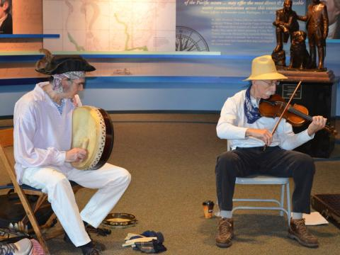 Traditional music at the Lewis and Clark Music Festival