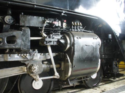 Una histórica locomotora de vapor en Cheyenne