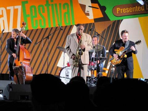 Putting on a good show at the Monterey Jazz Festival