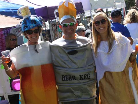 Getting in the spirit at Flagstaff Oktoberfest