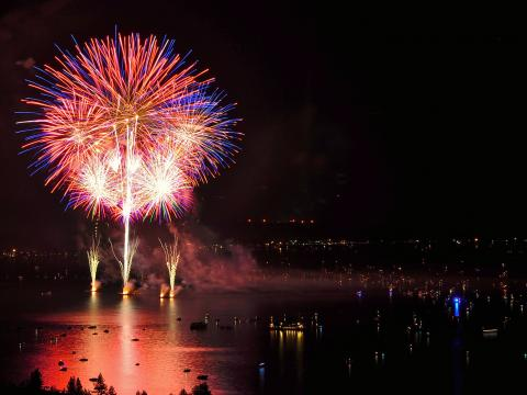 Spectacular Lights on the Lake Fireworks Display