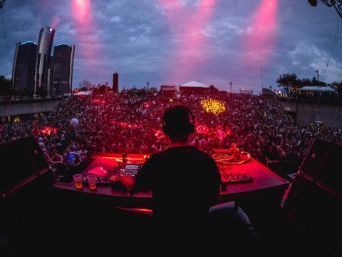 Maceo Plex y Ben Klock se presentan en el Movement Electronic Music Festival en Hart Plaza