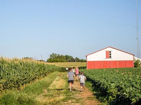 Peach Jam Festival and 5K en Mulberry Orchard en Shelbyville, Kentucky