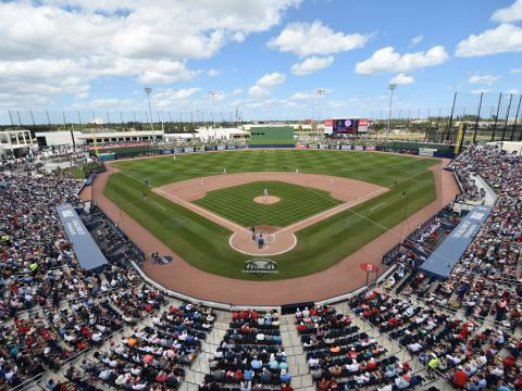 Ballpark of The Palm Beaches, complejo de entrenamiento de primavera en Florida