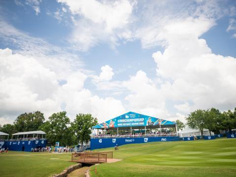 NW Arkansas Championship, una parada en el recorrido de LPGA, en Rogers, Arkansas