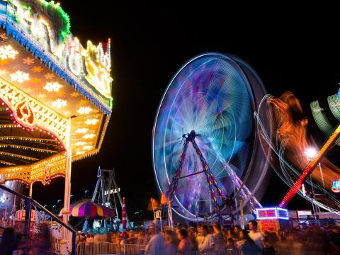 Atracciones de la California Mid-State Fair en Paso Robles, California