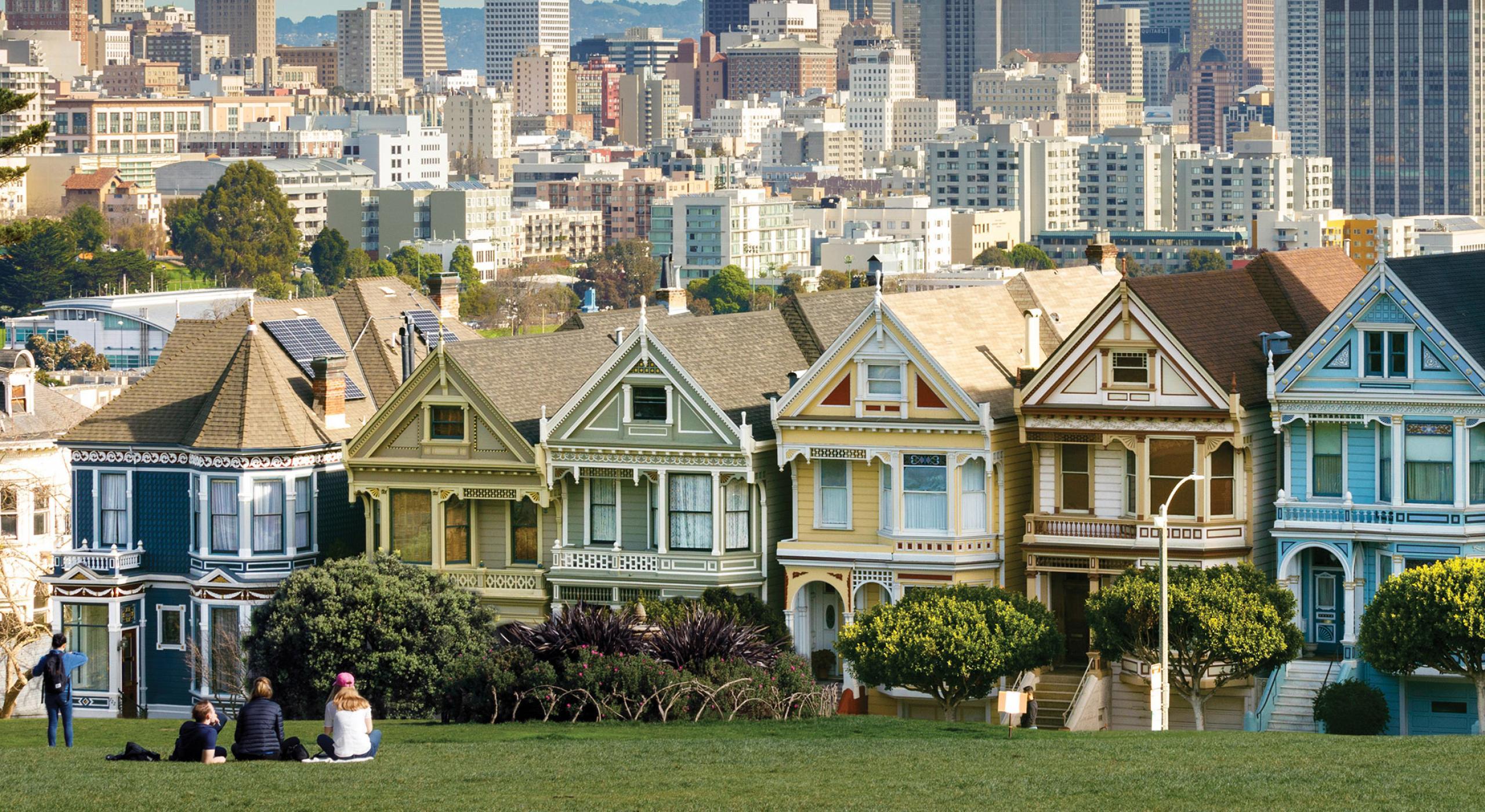San Francisco California íconos Y Sorpresas